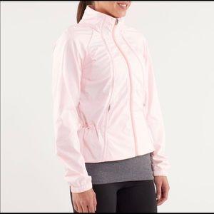 Lululemon Run: Travel to Track Jacket Blush Quartz